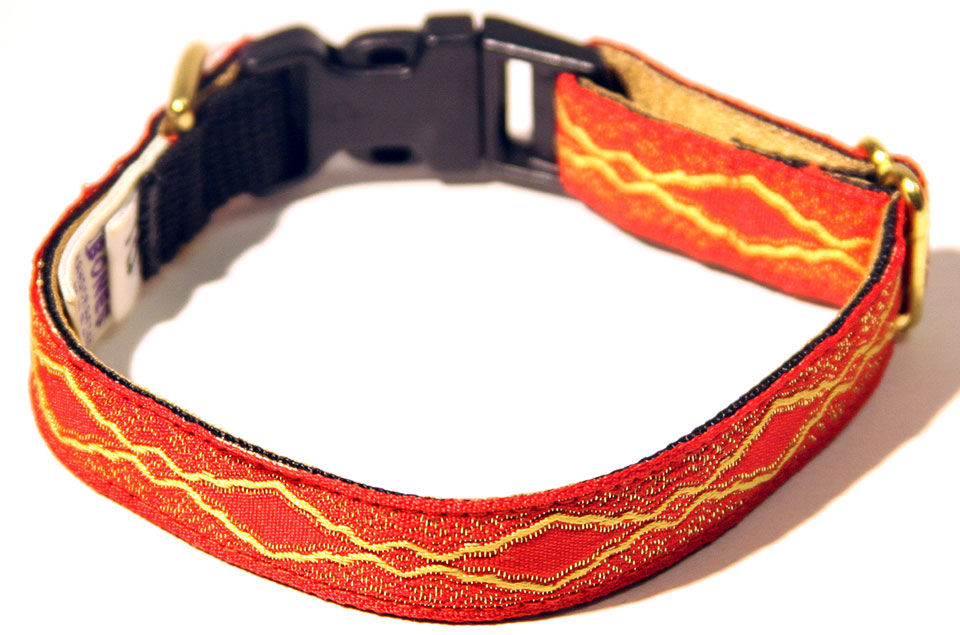 Versailles Scarlet Dog Collar