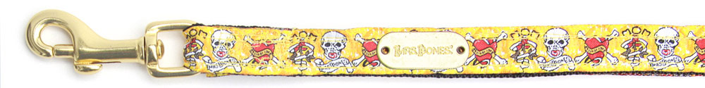 Leash Skully Yellow