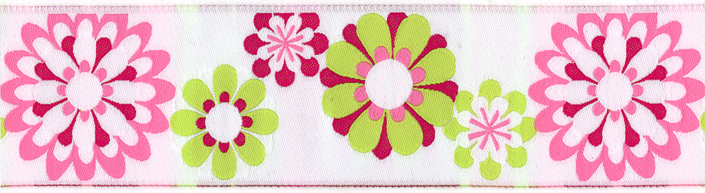 Named after the famous Carnaby Street in London, England. The birthplace of  Sixties Retro blooms available in White/Hot Pink/Lime green in 1.5