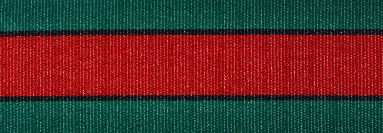 Gucci Stripe 3/4 inch Collar