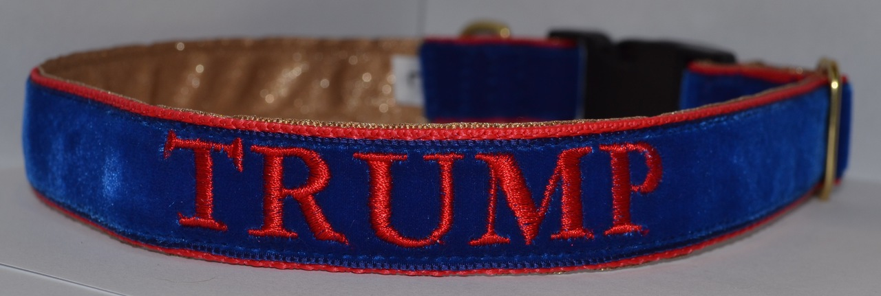 Trump Embroidered 1 inch Collar