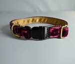 Cheetah Hot Pink 3/4 inch Collar