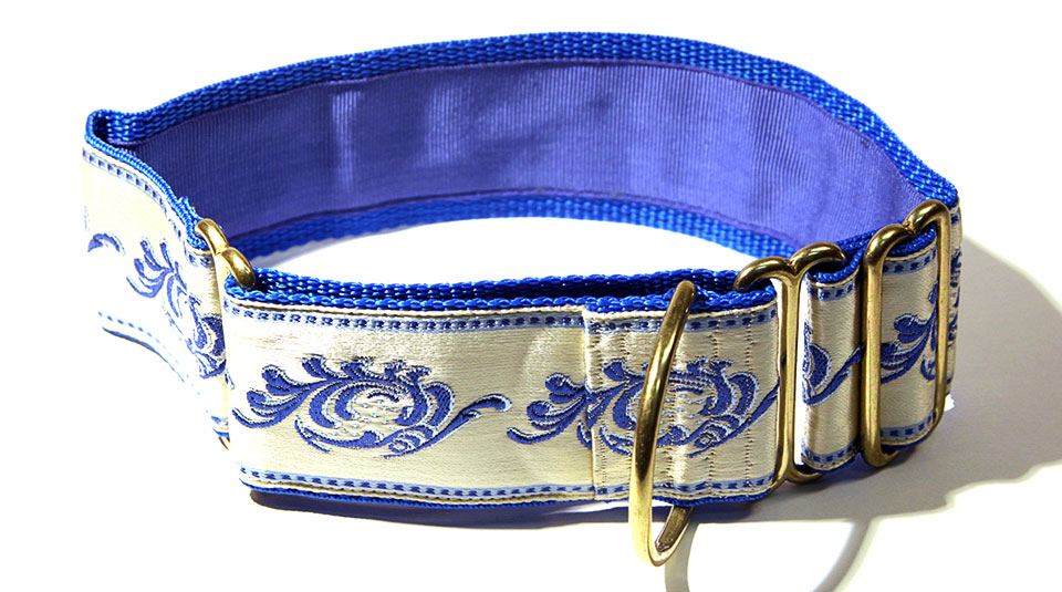 Opera Royal Blue 2 inch Collar