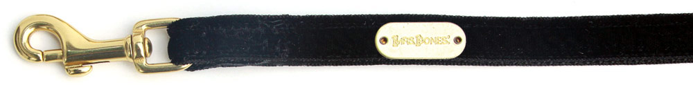 Leash Black Velvet