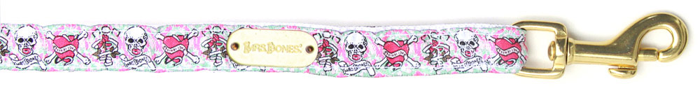 Leash Skully Pink