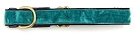 Teal Crushed Velvet 5/8 inch Collar