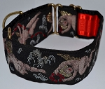 Fresco Black 2 inch Collar