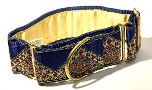 "Your dog is entitled to his or her own Empire in this Masterpiece Dog CollarAvailable in 2"" Widthin Standard, Martingale or Single Loop style dog collars"