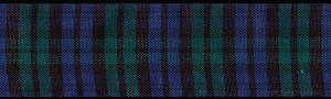 he Blackwatch regiment is known for being the Premier fighting force in Scotland.  Blackwatch Regiment wore these colors and now your dog can sport this noble pattern of Navy and Hunter Green Tartan.