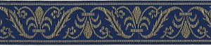 "It is rumored historically that when the Romans and later Napoleon invaded Europe they brought with their troops large Black and Tan Mastiffs resembling today's Rottweilers. I wonder if they were adorned with collars decorated with a Napoleonic motif like the Mrs. Bones Navy Napoleon Dog Collar has?Available in 1.5""width available in Standard, Single Loop or Martingale dog collarsWant to complete this Stylish ensemble? Mrs. Bones suggests color coordinating Swiss Velvet leash in Navy"