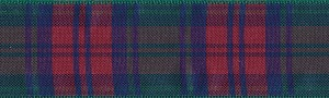 The Clan Lindsay was known earlier in England than most Clan names, Baldric of Lindsay came to Lincolnshire England to be tenant of the manors under Earl of Chester between the 6th and 9th centuries. The colors of this Tartan are Hunter and Fuchsia.